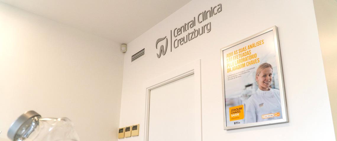 CENTRAL CLÍNICA CREUTZBURG - Recepção
